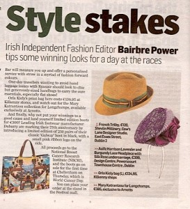 John Shevlin hat in the Irish Independent